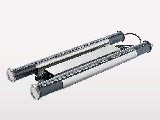 HUDSON, la soluzione di illuminazione per alta illuminazione della cremagliera nelle stanze di conservazione frigorifera