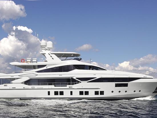 Benetti ha presentato Veloce 140'', il primo yacht della serie FAST  DISPLACEMENT