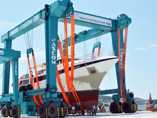 Ascom Barca-gru di capacità di 600 tonnellate