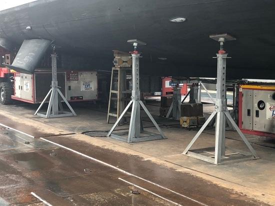 Nuova fornitura di tacchi regolabili per chiglia e supporti verticali presso i Nuovi Cantieri Apuania del Gruppo Admiral Tecnomar