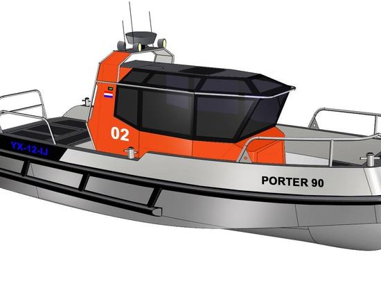 NUOVO: barca interna di servizio da Stormer Marine B.V.