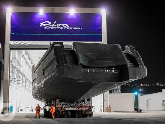 Riva va in regata ad Ancona con 50 metri di lunghezza