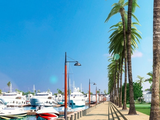 Renderings rivelato per la proposta di Port St. George marina