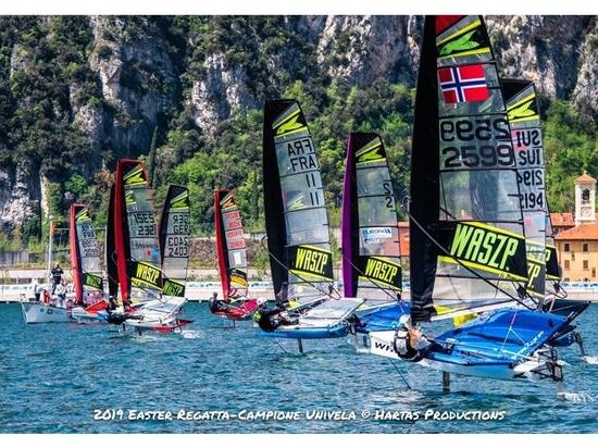 I Campionati Europei WASZP verso una flotta da record