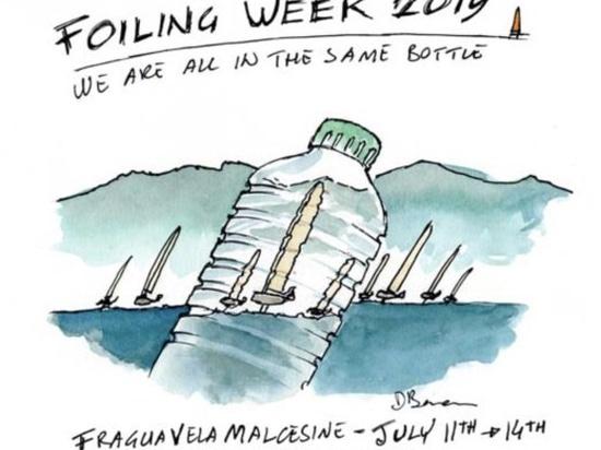 """2019 Settimana Foiling Garda """"Siamo tutti nella stessa bottiglia"""""""