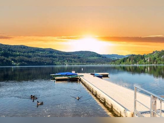 Titisee, Foresta Nera, Germania