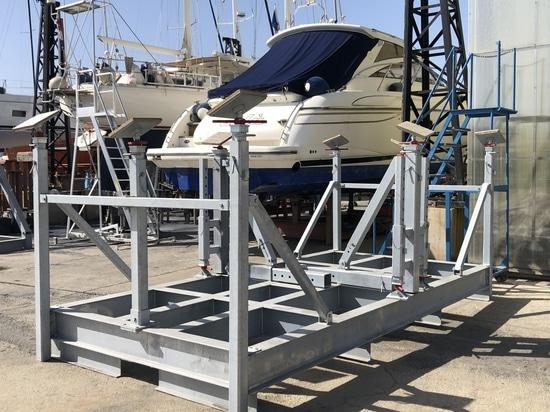 Nuova realizzazione di sella per barche a vela presso il Cantiere Ranieri di Bari