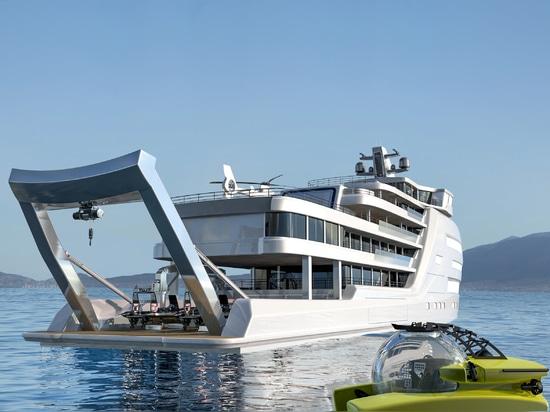 Incorporazione di sommergibili a bordo di superyacht