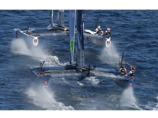La barca a vela F50 di SailGP incoronata World Sailing's Boat