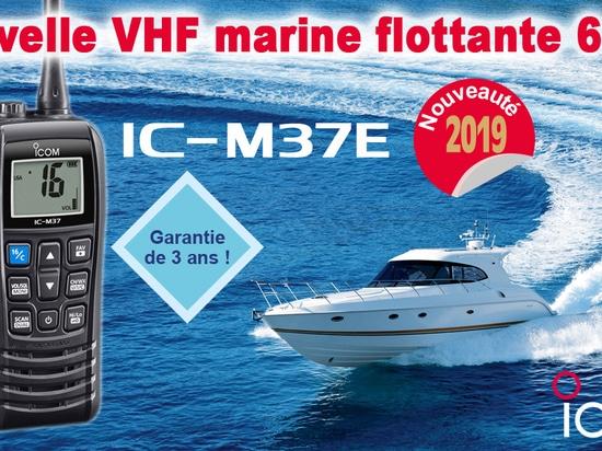 Nuovo VHF marino IC-M37E
