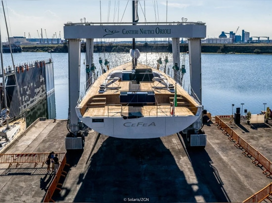 Solaris Yachts lancia 33,77 Metri Barche a Vela Cefea