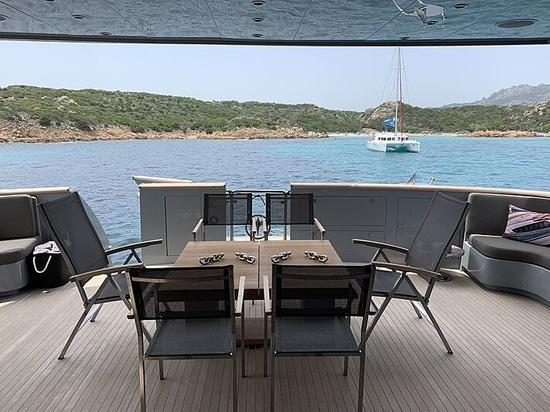 33m Baglietto motor yacht 4US in vendita