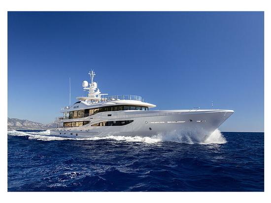 All'interno dell'ultimo superyacht Amels 180 in edizione limitata Galene