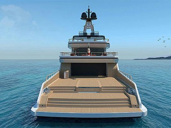 Vittoria Yachts per costruire 54m explorer Project Bowsprit
