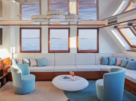 Motorsailer Yacht Corsario In Vendita