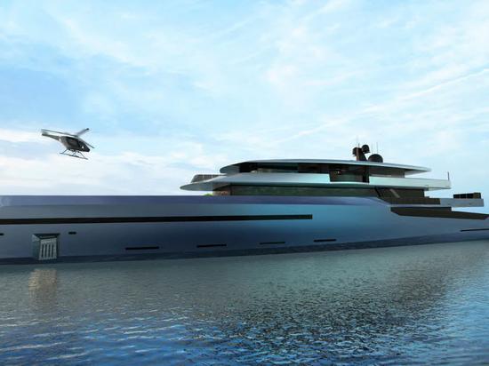 BYD Group rivela il concetto di Superyacht da 75 metri Bravo 75