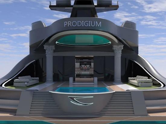 Lazzarini Design rivela il concetto di superyacht 153m Prodigium