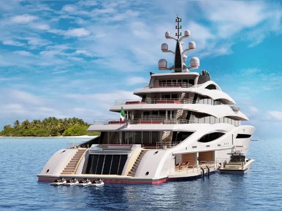 L'indipendenza dell'oceano rivela 100 metri del progetto Superyacht Century X