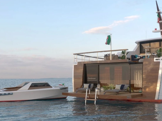Codecasa e Luca Dini Reveal 24 Metre Gentleman's Yacht Project