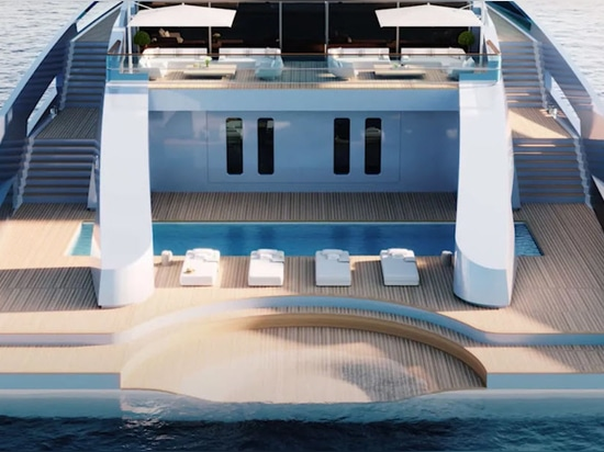 Feadship e Merveille Yachting Reveal 77,1 metri Eco Explorer Concept