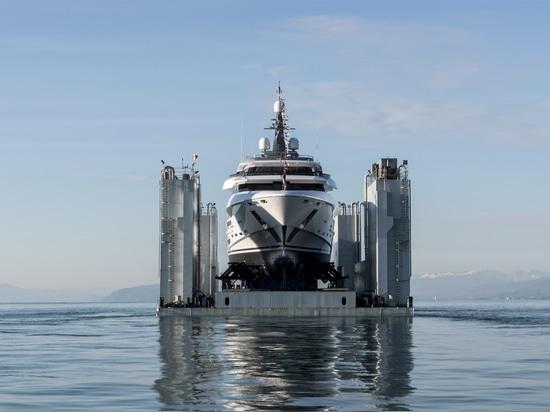 Varato il più grande yacht Rossinavi di 70 metri Polaris