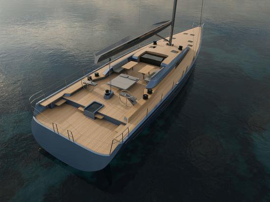 Nautor's Swan rivela il modello di yacht a vela Maxi Swan 88