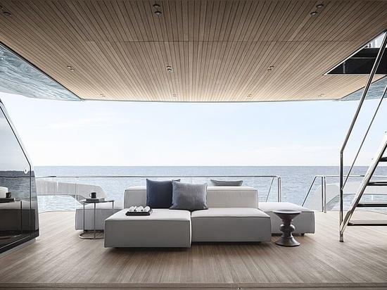 La villa che galleggia: A bordo del modello 34m SX112 di Sanlorenzo