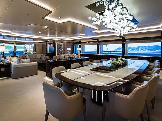 A bordo di O'Pari: il nuovo superyacht di punta di 95 metri di Golden Yachts