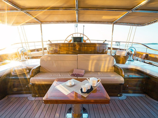 65m Dykstra yacht a vela Mikhail S. Vorontsov in vendita