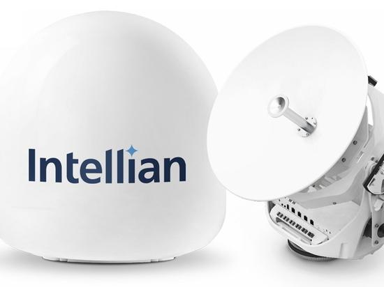 L'innovativa nuova antenna v45C di Intellian porta il VSAT sulle navi più piccole