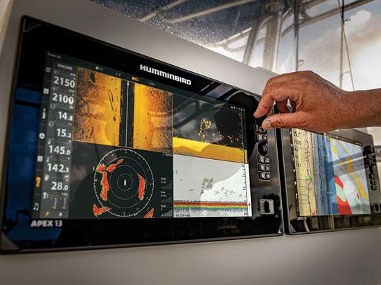 Humminbird presenta la serie APEX: Un MFD Premium con display Full-HD, sonar di prima classe e opzioni di rete