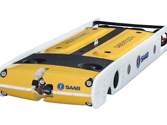 Il Saab Seaeye Sabertooth, valutato a 3000 metri, è l'unico veicolo multiruolo vagante e sospeso al mondo che può operare sia in modalità completamente autonoma (AUV) che legata (ROV).