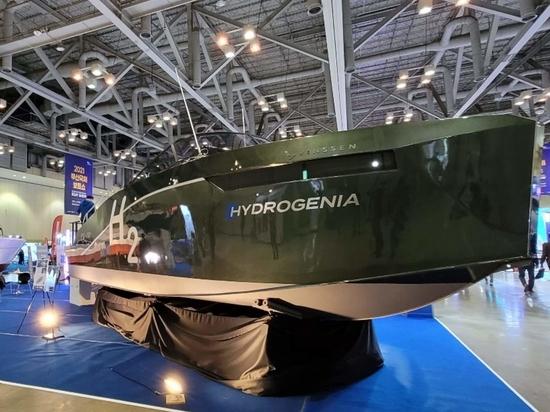 Svelata la prima barca a idrogeno commercializzata in Corea del Sud