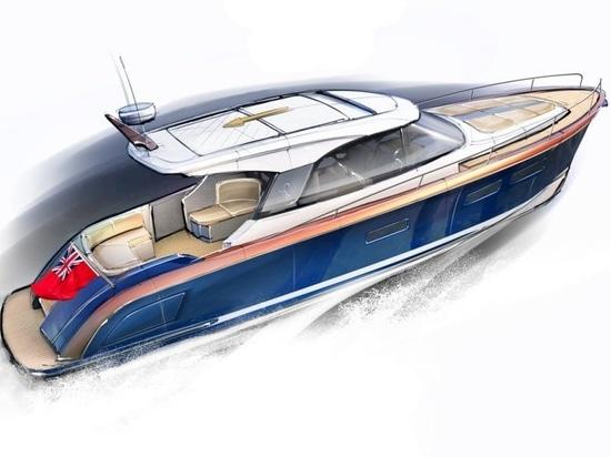 Rustler R41: il marchio britannico di vela lancia il primo yacht a motore