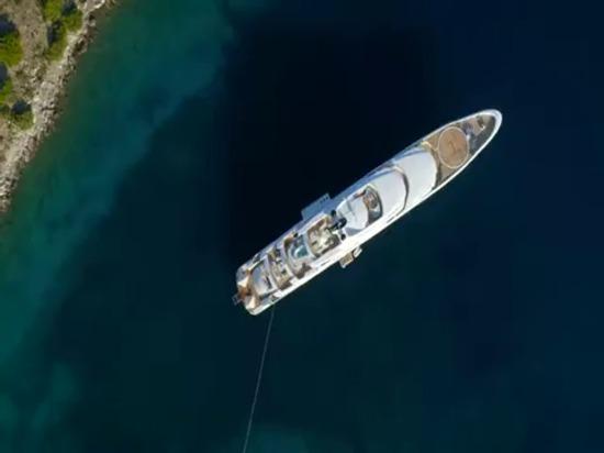 AGY 410 abonnés 95m O'PARI Yacht di lusso