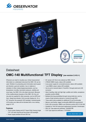 Brochure OMC-140