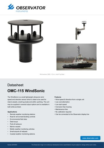OMC-115 WindSonic