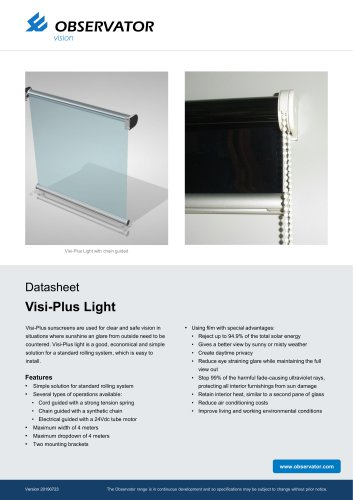 Visi-Plus Light