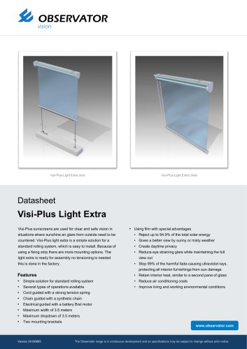 Visi-Plus Light Extra