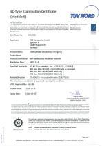 Certificate Module B