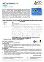 TDS FAKO-CBG 9311 Polishing paste