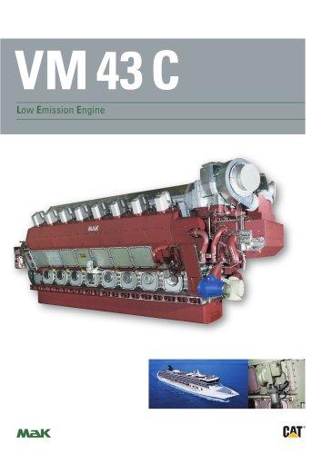 Brochure - MaK VM 43 C Low Emission Engine