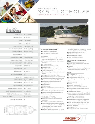345-CONQUEST-PILOTHOUSE-2020-SPEC-SHEET