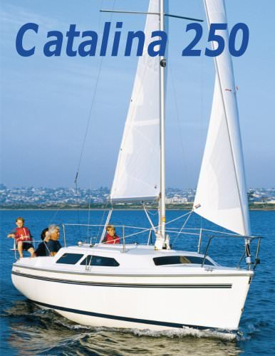 Catalina 250 Wing keel