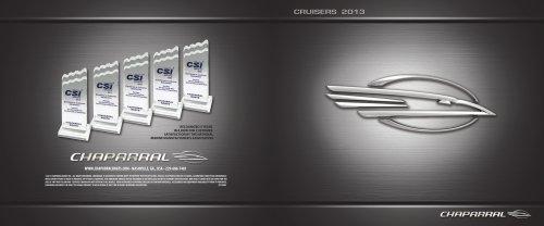 2013 Chaparral Cruiser