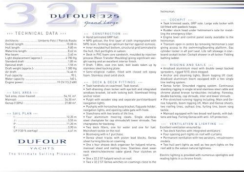 Dufour 325