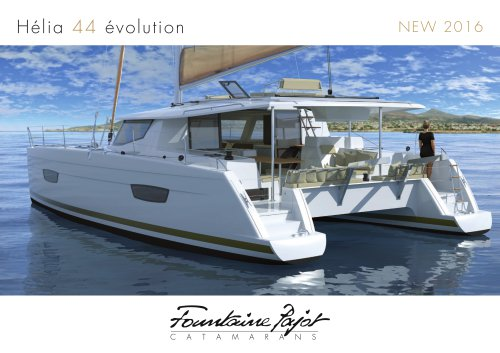Hélia 44 Evolution NEW 2016