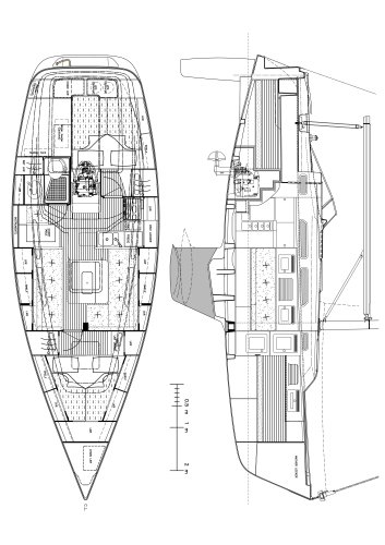 Hallberg-Rassy 342 Standard specifications
