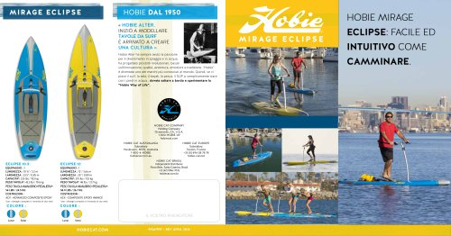 Hobie Mirage Eclipse Quad fold Brochure