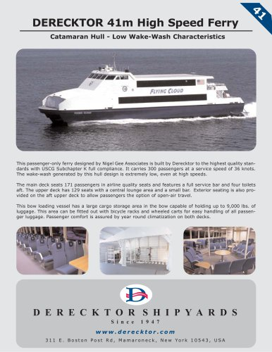 41m High Speed Ferry